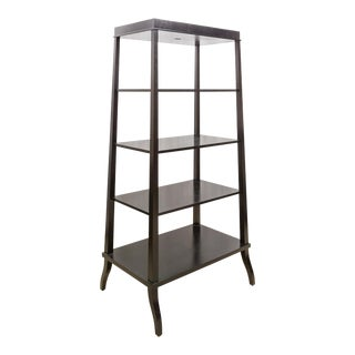 Modern Black Etagere by Bolier & Co. For Sale