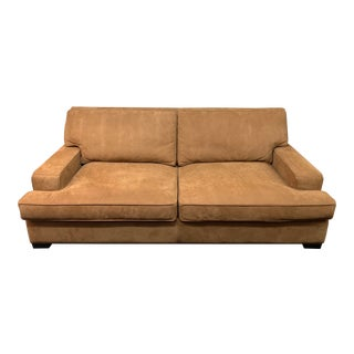 Custom Design New Raytown Suede Sofa For Sale