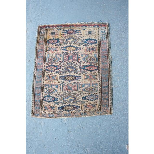 """Antique Caucasian Kuba Rug -- 2'11"""" x 3'7"""" - Image 2 of 7"""