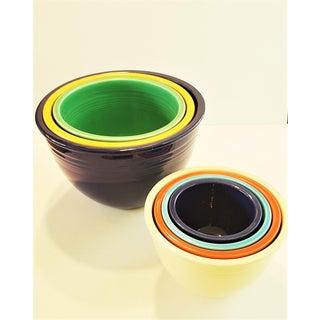 Rare Pristine Set of Vintage Fiesta Nesting Bowls 1930s Preview