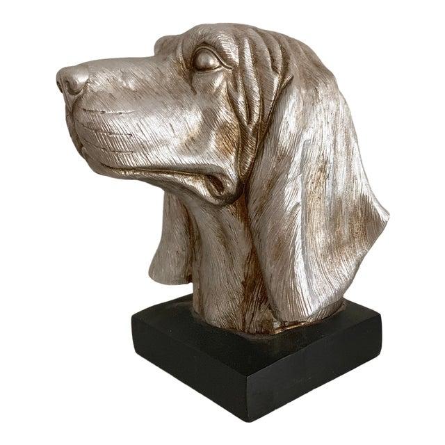 Labrador Golden Retriever Dog Head Figurine Bust For Sale
