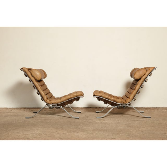 1970s 1970s Vintage Arne Norell Ari Chairs- A Pair For Sale - Image 5 of 13