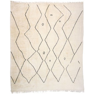 Contemporary Moroccan Oversized Rug - 16'11 X 20'03 For Sale