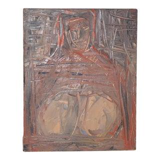 "Arthur J. Krakower ""Big Mama"" Oil on Canvas c.1998 For Sale"