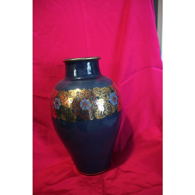 Benjaron Tall Vase For Sale - Image 4 of 4