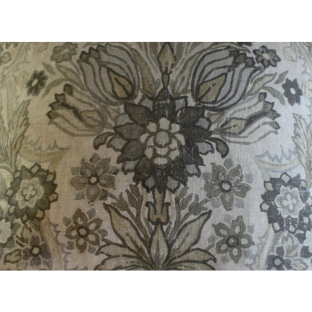 Lee Jofa Grey/Bisque Tetbury Pillow Cover - Image 6 of 6