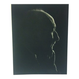 "Black & White Print on Paper, ""Francois Mauriac"" by Yousuf Karsh, 1967 For Sale"