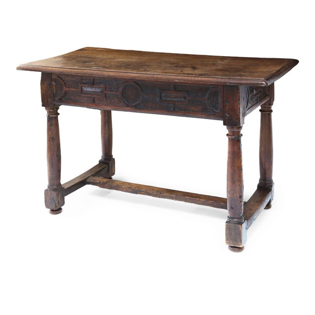 Early French Walnut Table For Sale - Image 12 of 13