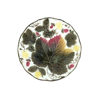 Antique Wedgwood Majolica Plate For Sale