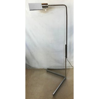 1970s Cedric Hartman Signed Chrome Floor Lamp Preview