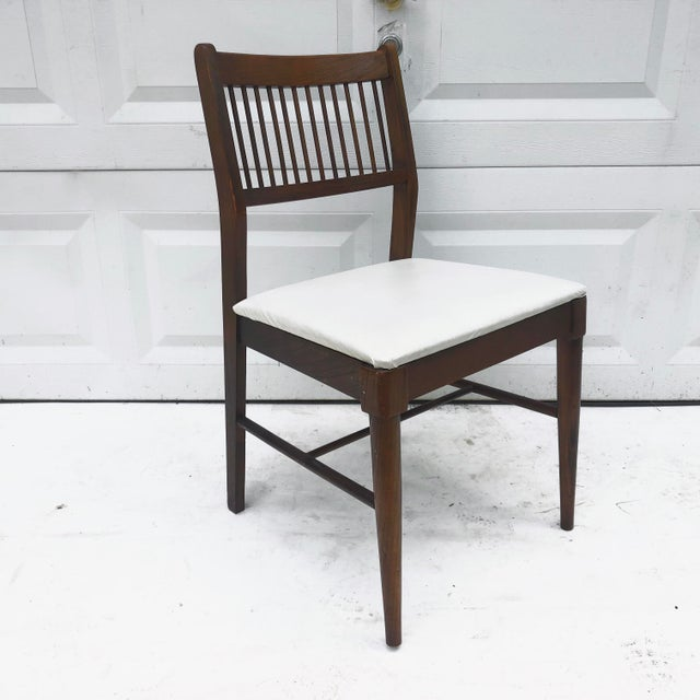 Mid-Century Spoke Back Chair by Johnson Carper For Sale - Image 10 of 11