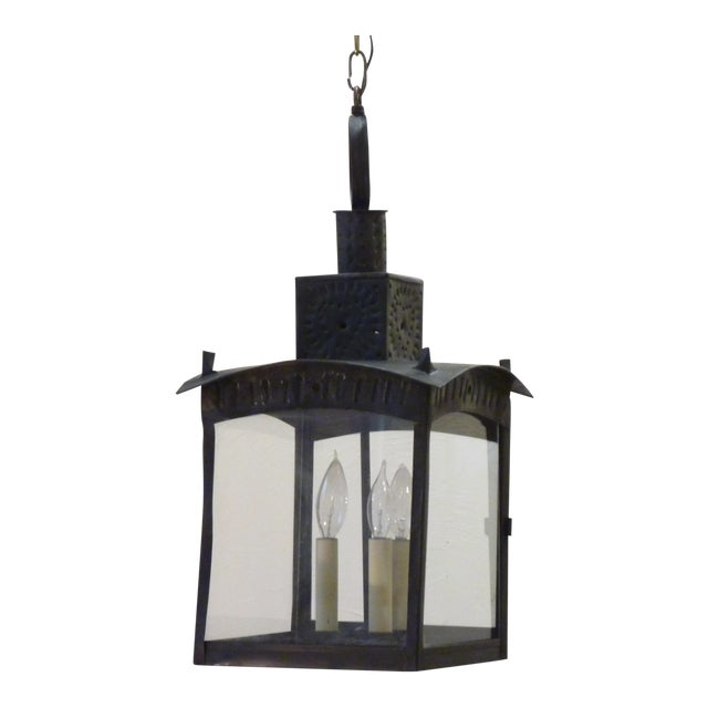American Tin Lantern For Sale