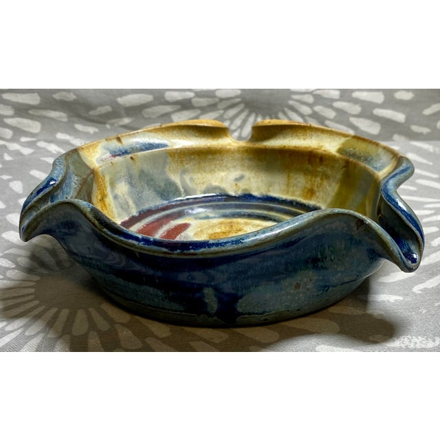 This is a hand crafted brie baker with a fluted edge that adds flare and beauty to all of your dishes! This piece is also...