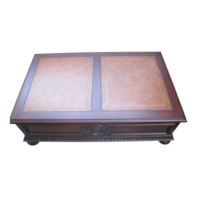 Ethan Allen Morley Coffee Table For Sale