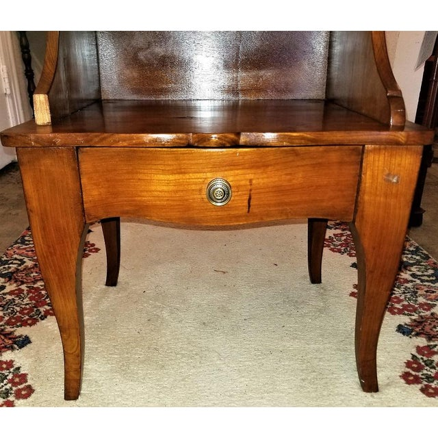 French Country 18th Century French Country Cherrywood Side Table or Open Case For Sale - Image 3 of 11