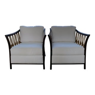 Palacek Lincoln Lounge Chair - Set of 2 For Sale