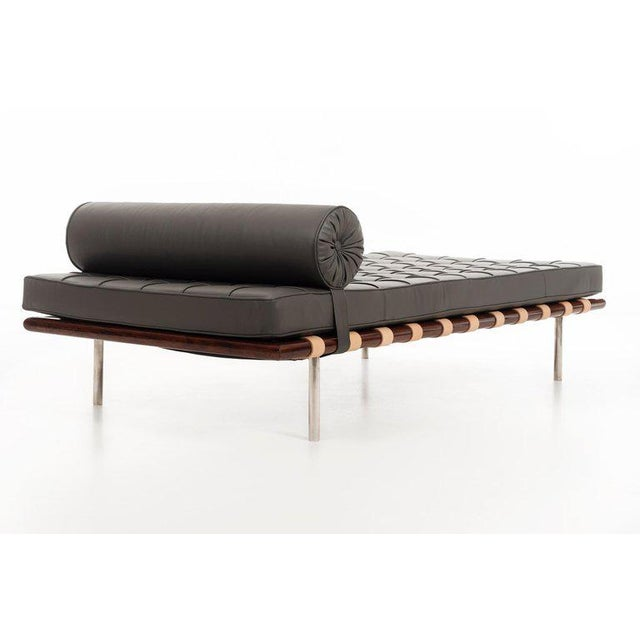 1960s Ludwig Mies Van Der Rohe Rosewood Daybed For Sale - Image 5 of 10