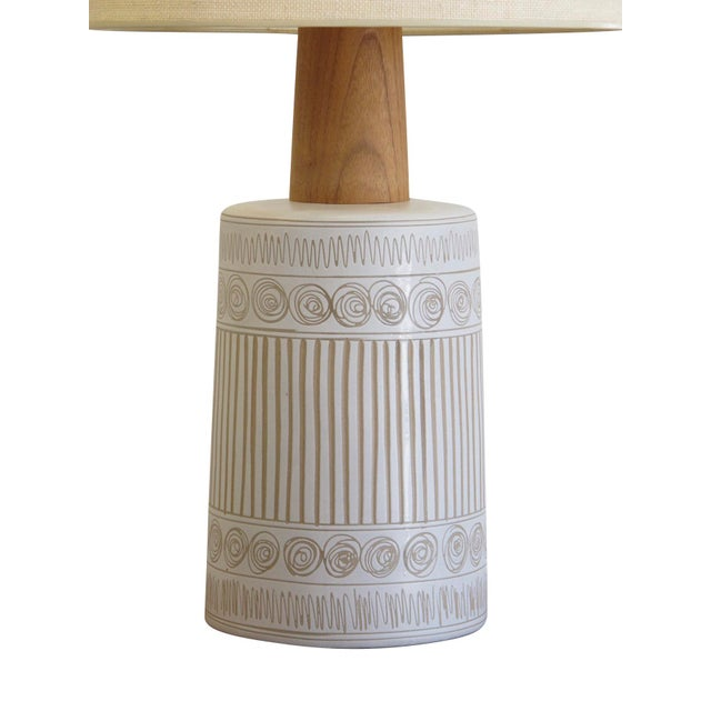 Mid-Century Modern Mid-Century Martz Glazed Ceramic Lamp for Marshall Studios For Sale - Image 3 of 7