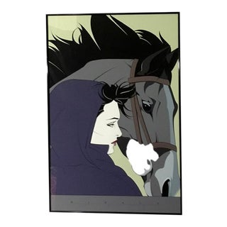 """1987 """"Montana"""" Serigraph by Patrick Nagel For Sale"""