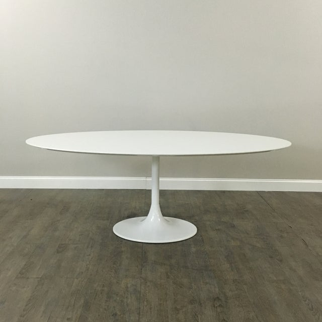 Saarinen-Style Tulip Dining Table by Domitalia - Image 2 of 7