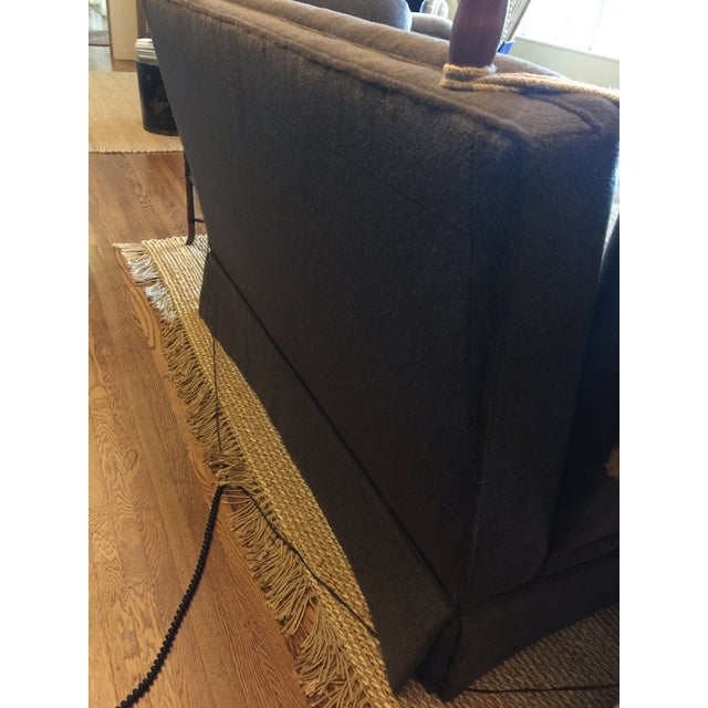 Knoll Brown Mohair Sofa - Image 4 of 7