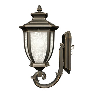 Kichler Bronze Outdoor Wall Sconce For Sale