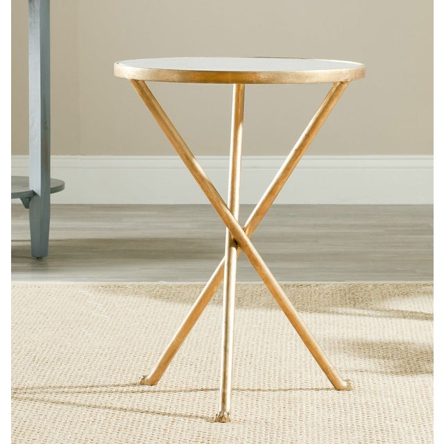 Traditional Safavieh Marcie Accent Table For Sale - Image 3 of 4