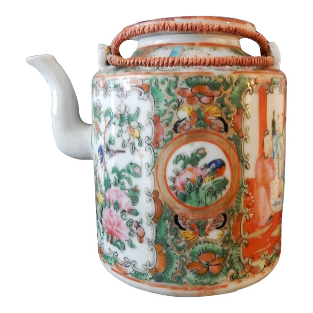 Rose Medallion Teapot - Famille Rose - Rose Canton - c. 1900 - Image 1 of 8