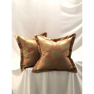 Pair of Jim Thompson Flange Edge Pillows Preview