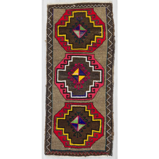 1960s Turkish Kars Rug For Sale - Image 4 of 4