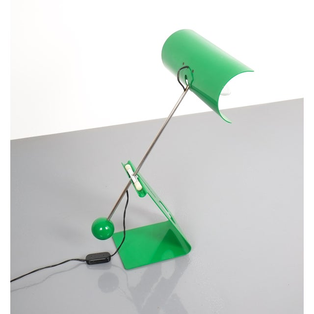 Metal Mauro Martini Adjustable Counterweight Table Lamp Picchio, Italy, Circa 1965 For Sale - Image 7 of 13