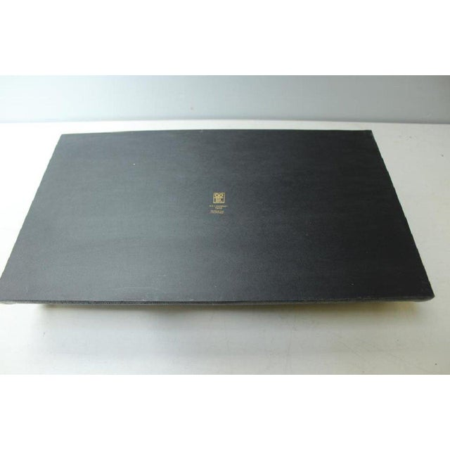 Contemporary R & Y Augousti Shagreen Stingray Tray For Sale - Image 3 of 5