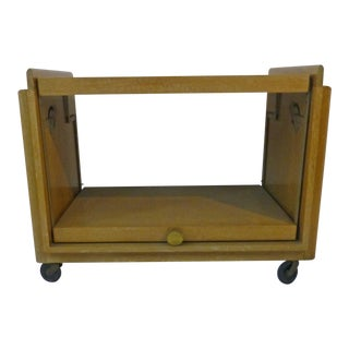 Mid-Century Modern Serving Cart John Keal for Brown Saltman For Sale