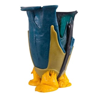 Gaetano Pesce Mulitcolored Resin Vase - 1996 For Sale