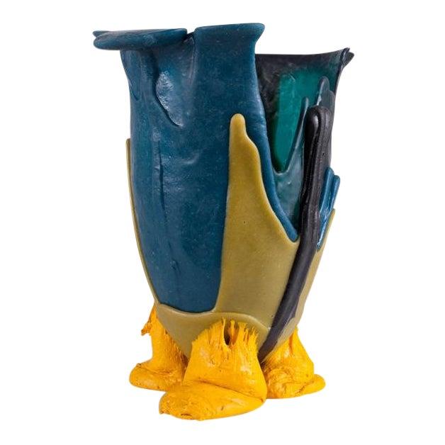 Gaetano Pesce Mulitcolored Resin Vase - 1996 For Sale