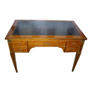 Late 19th Century Antique French Rosewood Desk For Sale