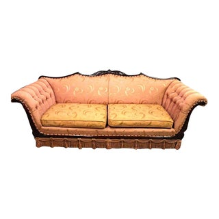 Mid-Century Upholstered Sofa