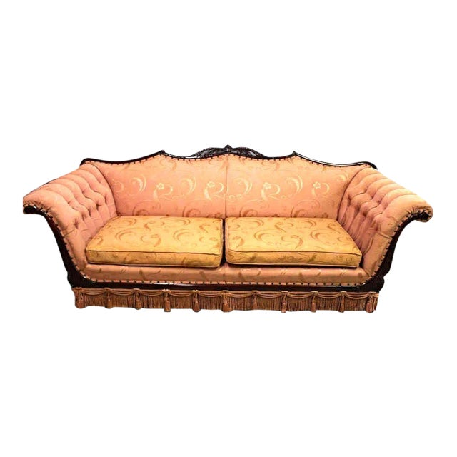 Mid-Century Upholstered Sofa - Image 1 of 7