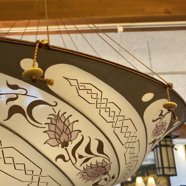 Fortuny Custom Scudo Saraceno Carduus Pendant in Light Pink For Sale - Image 9 of 10