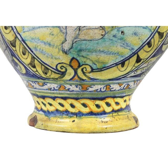Roman Majolica Pot For Sale - Image 4 of 10