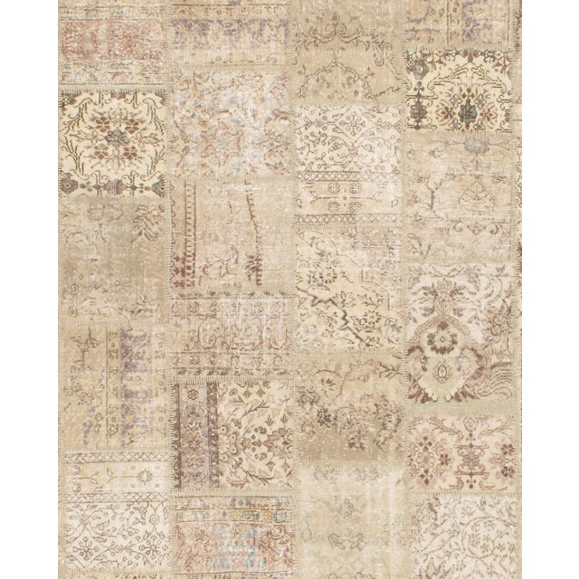Turkish Patchwork Rug - 8′1″ × 10′1″ - Image 2 of 2