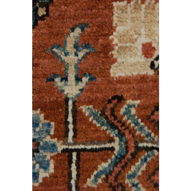 """New Serapi Hand Knotted Runner - 2'9"""" x 9'9"""" - Image 3 of 3"""