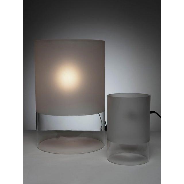 "Guido Rosati Pair of ""Fatua"" Table Lamps by Guido Rosati for Fontana Arte For Sale - Image 4 of 5"