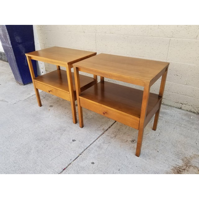 Paul McCobb Paul McCobb Side Tables / Nightstands - a Pair For Sale - Image 4 of 8