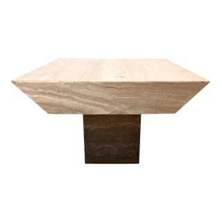 198 PostModern Marble Coffee Table For Sale