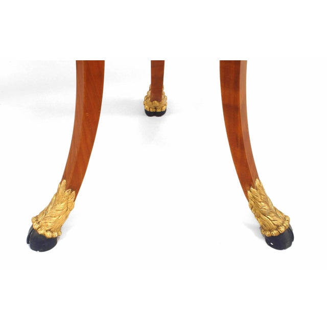 Mid 20th Century 20th Century Italian Neoclassic Style Pedestals - a Pair For Sale - Image 5 of 7