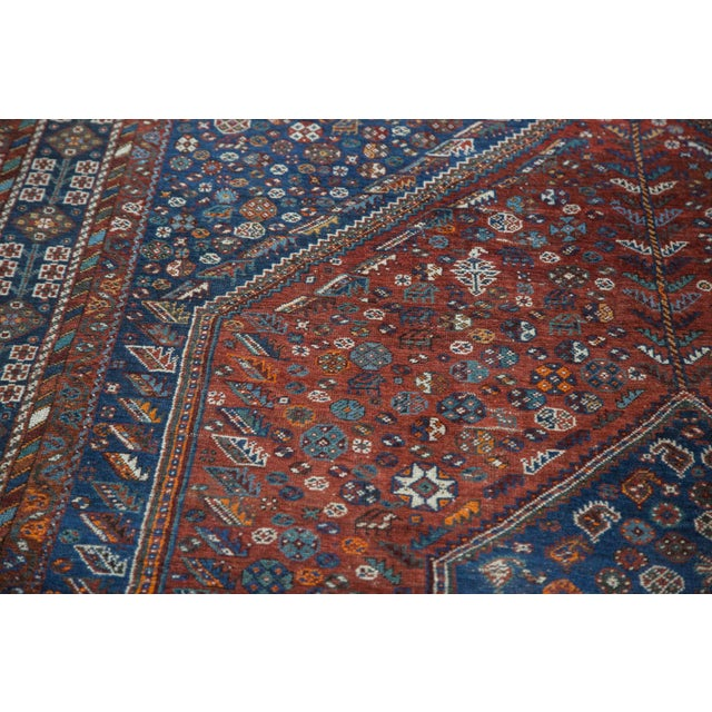 "Vintage Shiraz Carpet - 7'3"" X 9'5"" - Image 10 of 10"