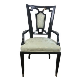 William Switzer Lucien Rollin Dining Marquis Arm Chair For Sale