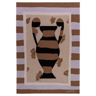 Wayne Pate - Urn Cashmere Blanket, 51' X 71' For Sale
