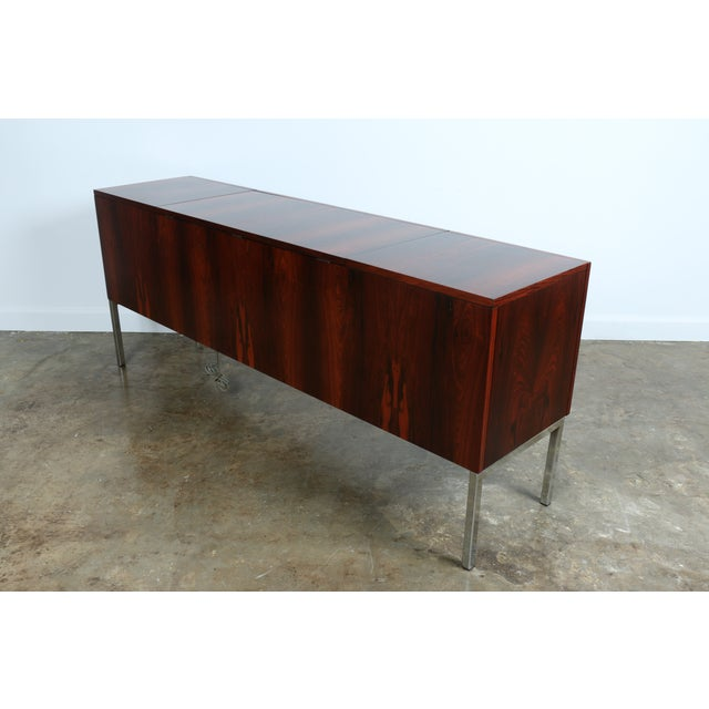 1970s Rosewood Record Cabinet - Image 8 of 11